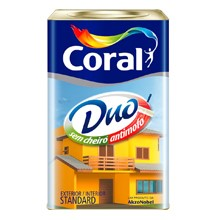 Tinta CORAL DUO 18L BRANCO FOSCO