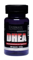 DHEA 50mg (100 caps) - Ultimate Nutrition