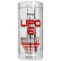 Lipo 6 Unlimited (120 caps) - Nutrex