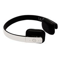 Fone de ouvido Bluetooth Shock Wave Branco