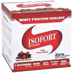 Isofort Bio Protein (Whey Protein Isolate) - Vitafor - 15 Sachês