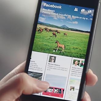 Facebook apresenta app para leitura de notícias