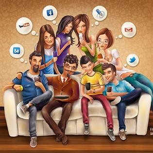 Social media é principal fonte de informação, aponta Microsoft