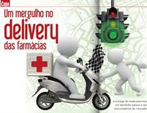 Ímã de Geladeira e Gráfica - Notícias - Um mergulho no delivery das farmácias