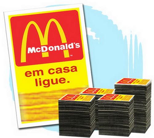 Imã de Geladeira 2.000 unids. R$0,18 (cada) PROMOCIONAIS 7x5cm