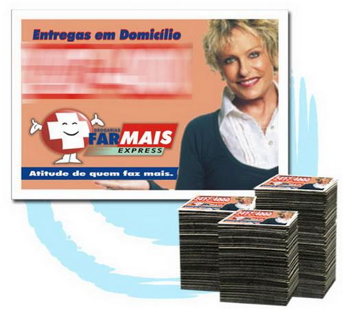 Imã de Geladeira 20.000 Unids. R$0,119 (cada) PROMOCIONAIS 7x5cm
