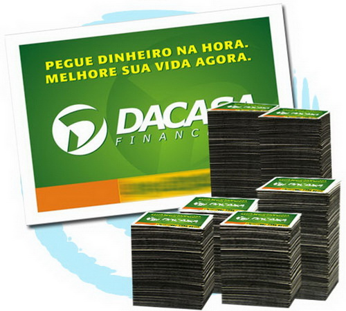 Imã de Geladeira 30.000 unids. R$0,117 (cada) PROMOCIONAIS 7x5cm.