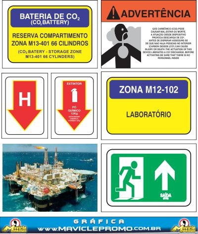 Offshore Signaling Plates and Adhesives