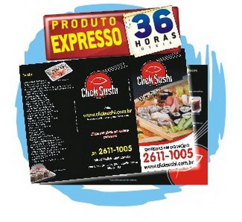 10.000 Panfletos PROMOCIONAIS 28x20cm 4/4cores