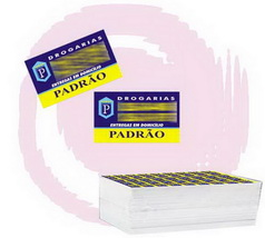 ETIQUETAS ADESIVAS 25.000 UNIDS. 2,5x2cm 4 cores.