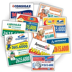1.000 Imãs de Geladeira R$0,16(cada) PROMOCIONAIS 7x5cm.