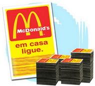 20.000 Imãs de Geladeira R$0,114 (cada) PROMOCIONAIS 7x5cm