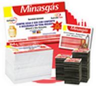 Kit 10.000 imãs promocionais 7X5cm embalados individualmente + 10.000 panfletos 14x10cm 4/4 Q3B