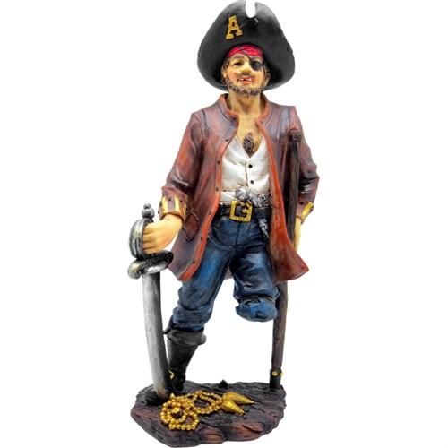 Pirata Sem Perna G Resina