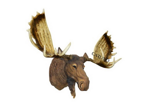 Cabeça Moose ( Alce ) Parede