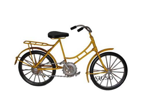 Bicicleta com Garupa Amarela 47006