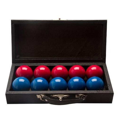 Jogo de bola Lisas Vermelhas e Azuis 54mm