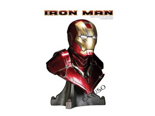 Iron Man Busto