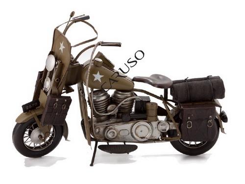 Miniatura Moto Verde