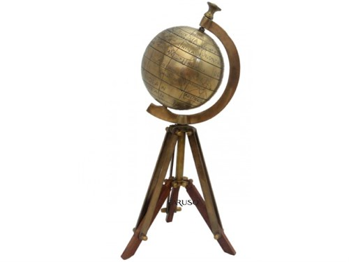Globo Bronze c/ Tripé - TB-281