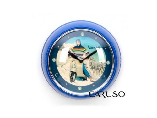 Relógio de Parede Vespa Azul