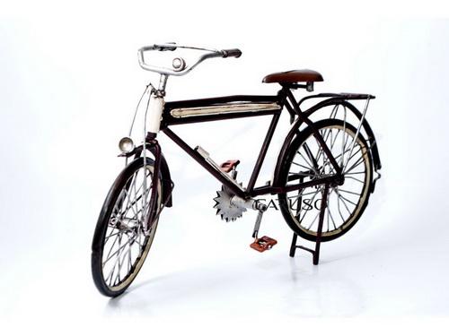 Bicicleta Marrom