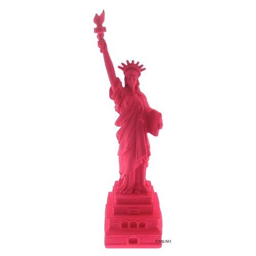 Estatua da Liberdade Rosa neon