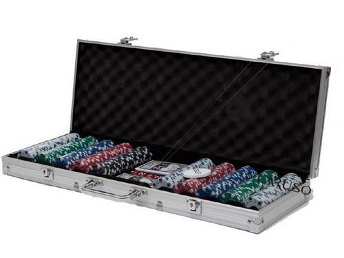 Fichario de Poker 500 fichas