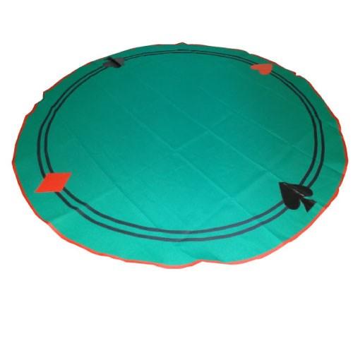 Toalha redonda sinuca 1,60m