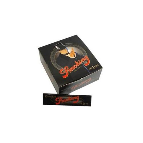 Seda Smoking De Luxe King Size caixa com 50 livretos
