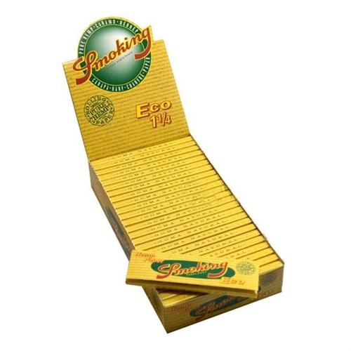 Seda Smoking Eco Pure Hemp 78 mm Caixa com 25 livretos