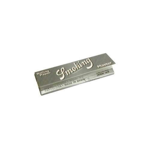 Seda Smoking Master 78 mm Prata Unidade