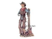 Cowboy Resina Charuto e Cafe 001273