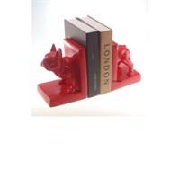 Porta Livro Dog Vermelho