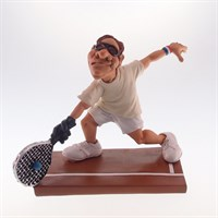 Caricatura Jogador de Tenis