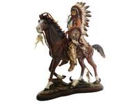 Indio Guerreiro a Cavalo