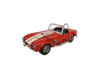 Miniatura Carro Shelby Vermelho 1966 Cobra