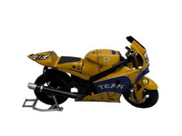 Miniatura Moto 2006 Yamaha Amarela YZR-01