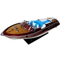 Barco Replica Riva Aquarama Azul