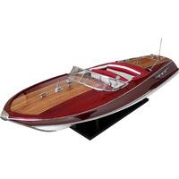 Barco Replica Riva Ariston Vermelha