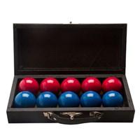 Jogo de bola Lisas Vermelhas e Azuis