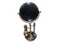 Kit Barbear c/ Espelho Metal