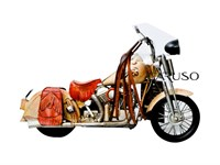 Miniatura Moto Indian Chief Lata