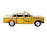 Miniatura Carro Taxi Amarelo
