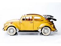 Miniatura Fusca Amarelo Conversivel