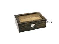 Caixa para 10 Relógios Ebony 52005