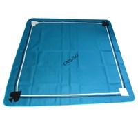 Toalha Quadrada Azul 1,80m