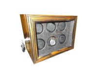 Caixa para 6 Relógios Automática Madeira Caruso