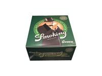 Seda Smoking Green King Size Pure Hemp 110 mm caixa com 50 livretos