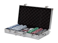 Fichario de Poker 300 fichas